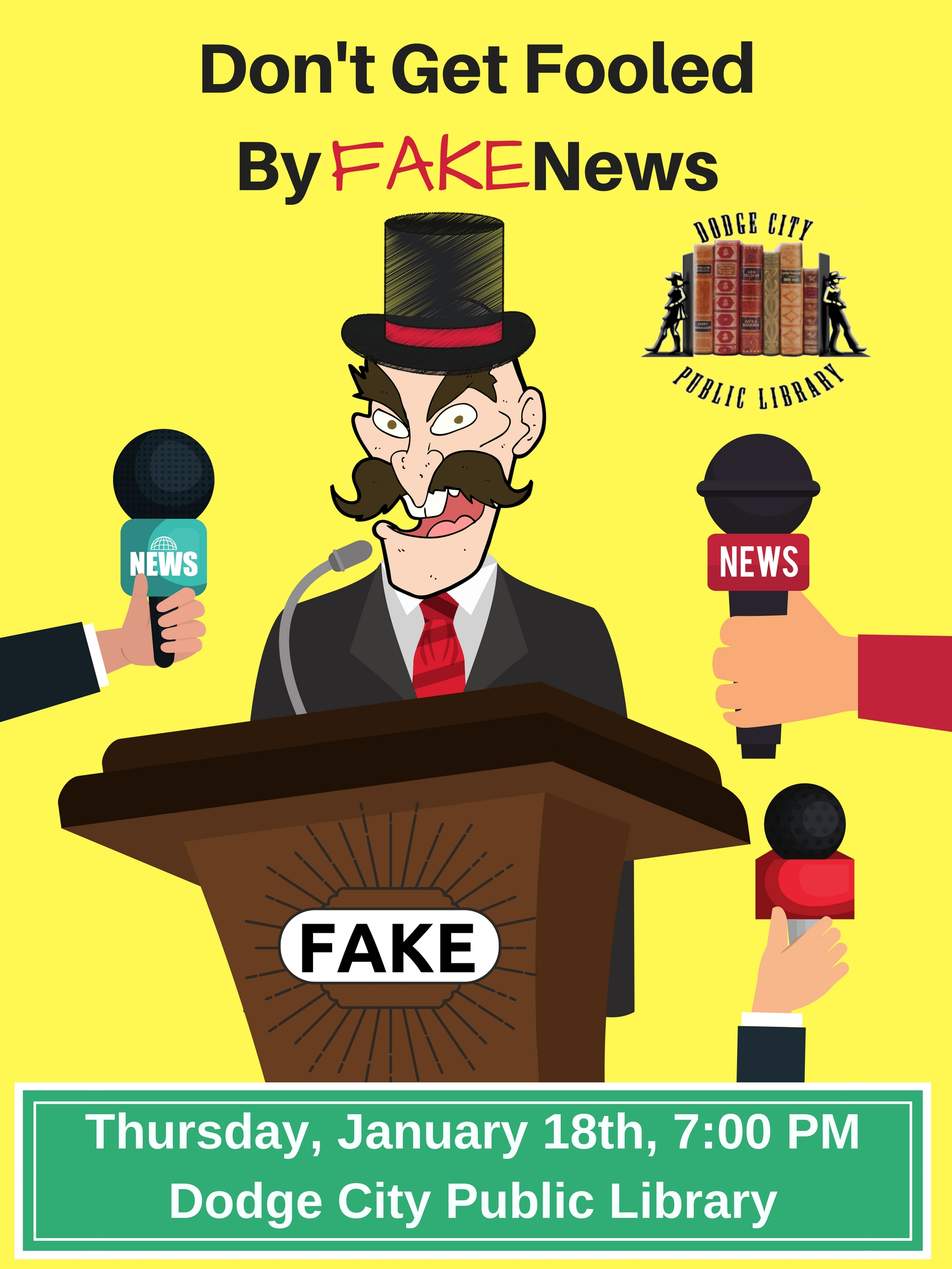 Don't Get Fooled by Fake News