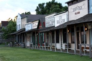 Boot Hill Museum boardwalk