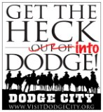 Get the Heck into Dodge logo