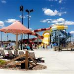Long Branch Lagoon water park slides