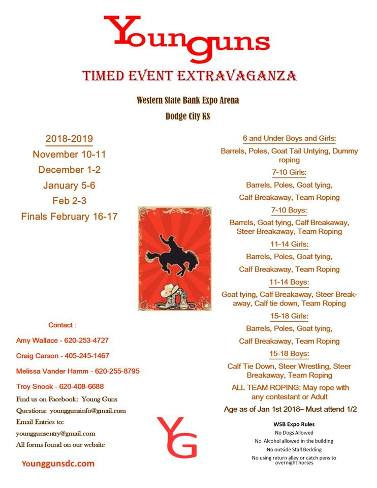 Young Guns Timed Event Extravanganza