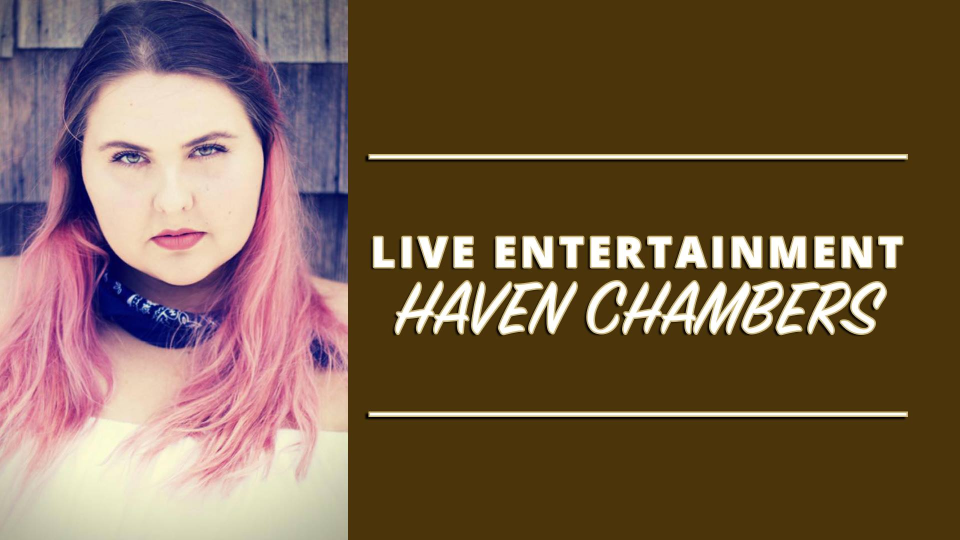 Haven Chambers LIVE Flyer
