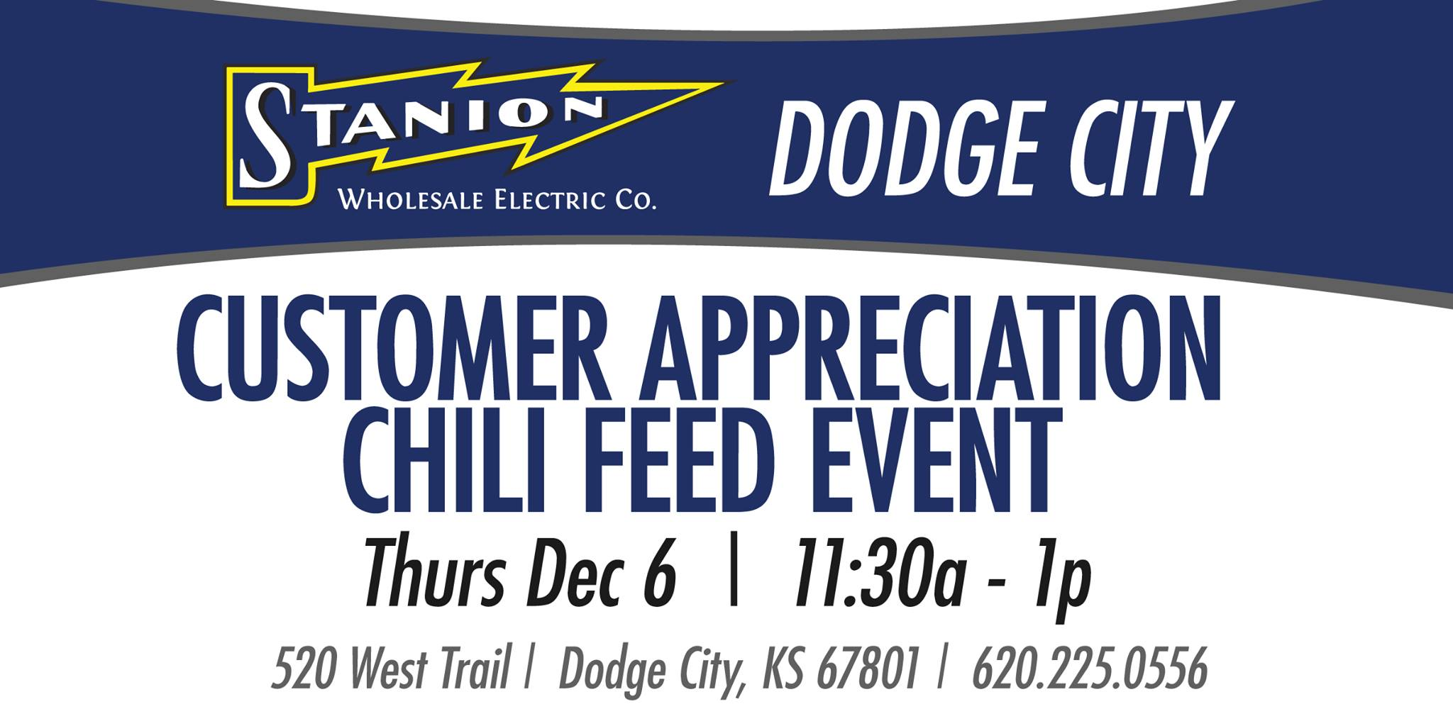 Customer Appreciation Chili Feed Event- Stanion Wholsale Electric Co.