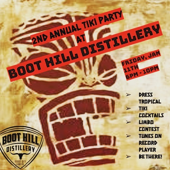 Boot Hill Distillery Tiki Party