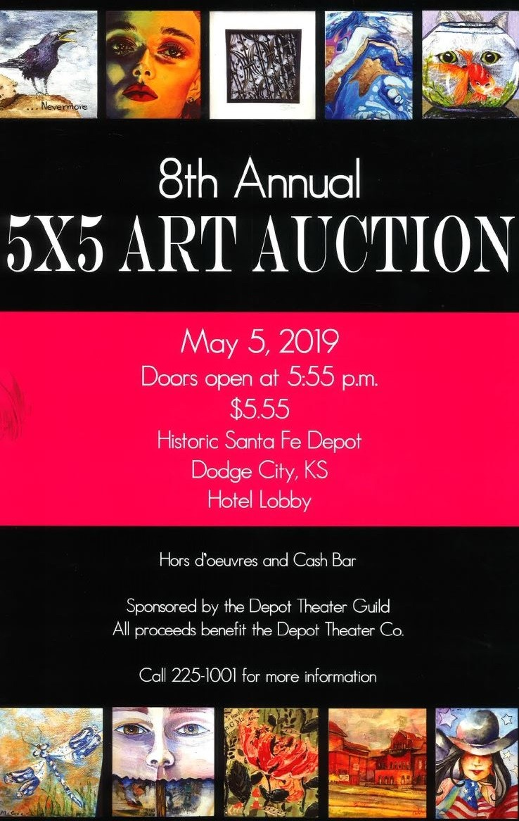 5x5 Art Auction