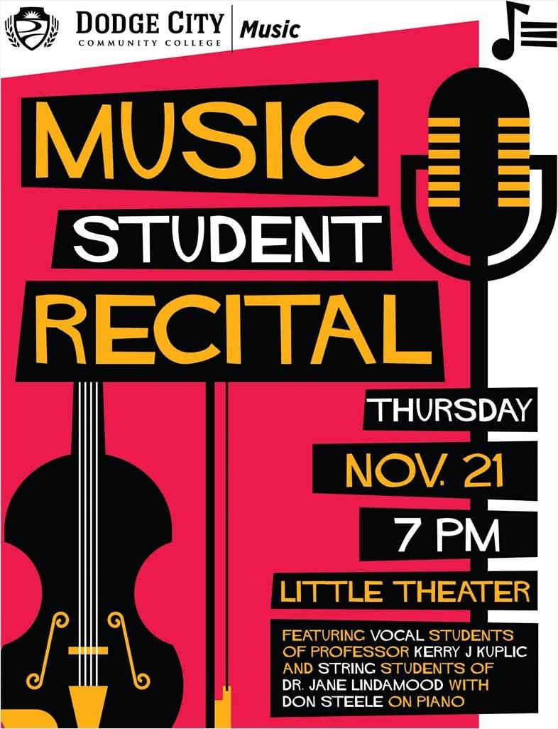 Dodge City Community College Music Student Recital