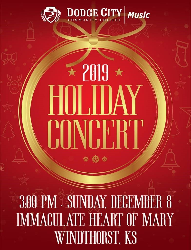 Dodge City Community College Holiday Concert