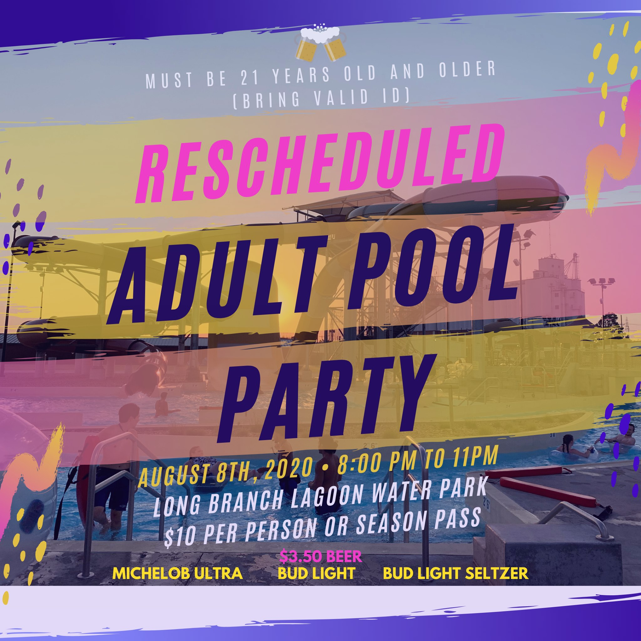 LBL Adult Pool Party