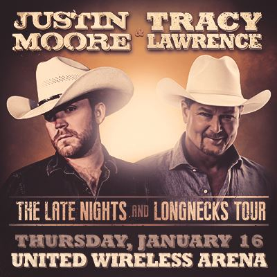 Justin Moore & Tracy Lawrence