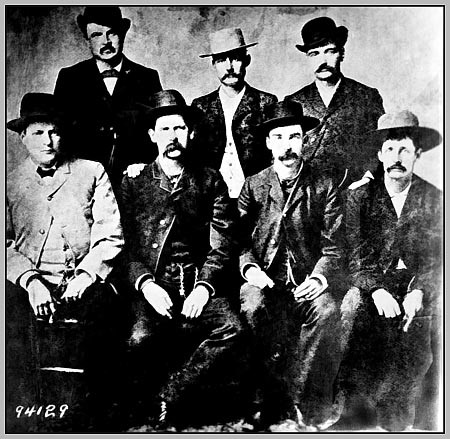 Black and White Photo of the Dodge City Peace Commission