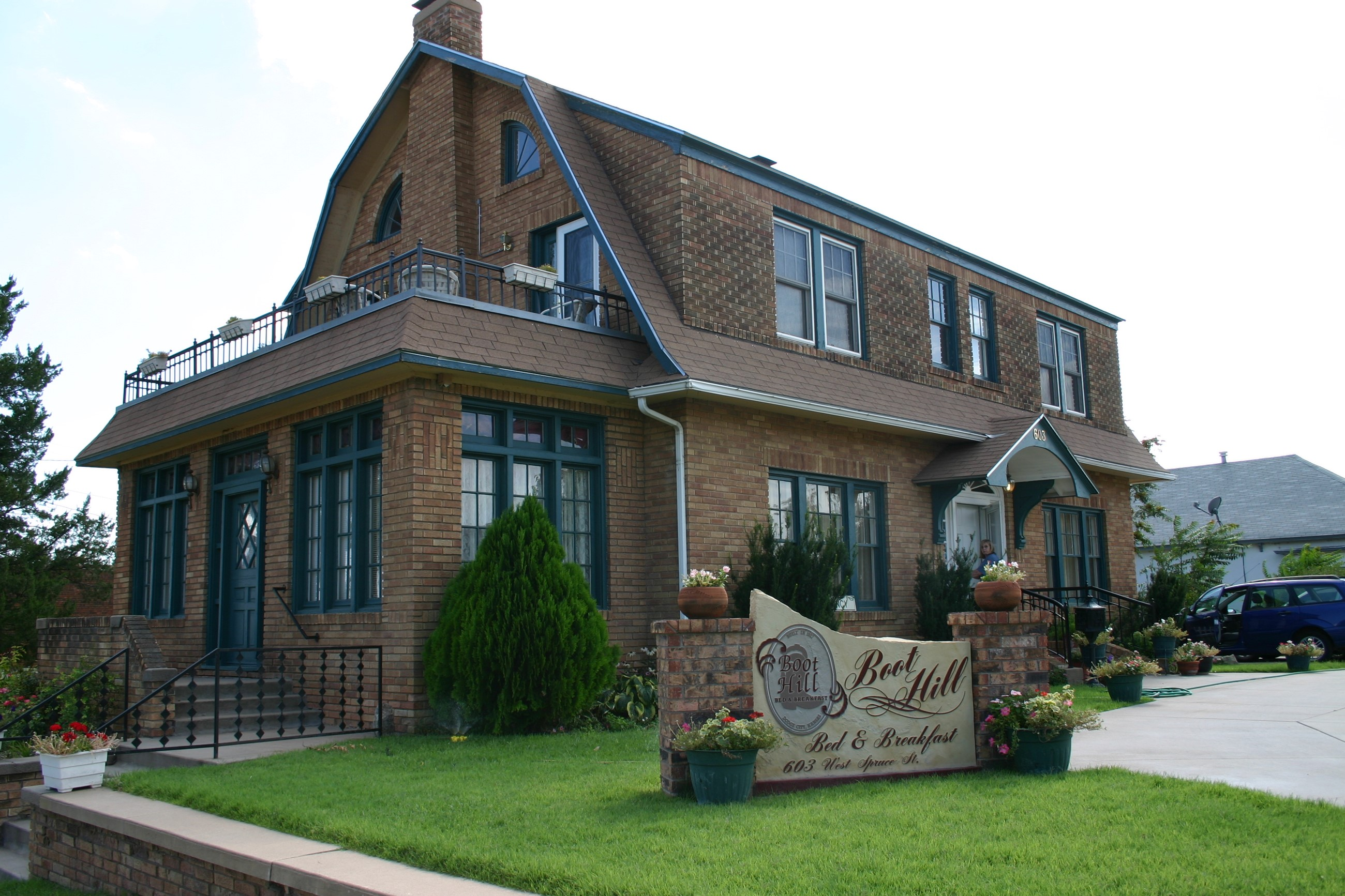 Boot Hill Bed and Breakfast Dodge City Kansas