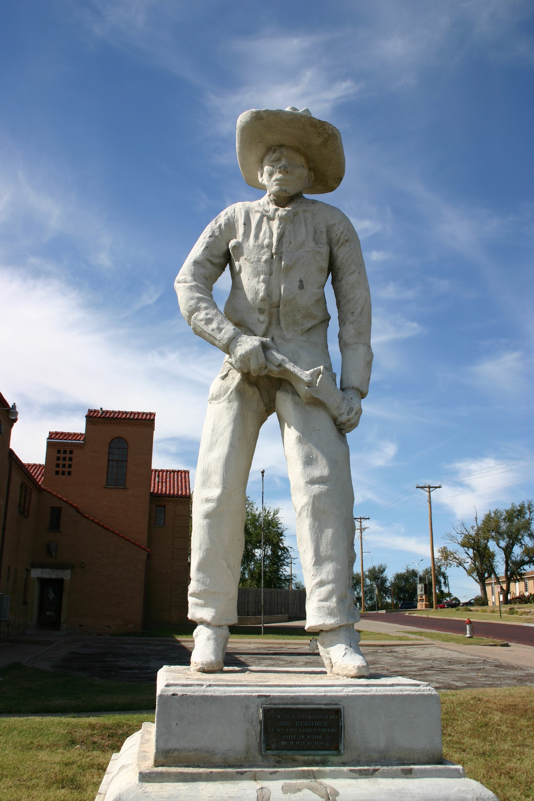 Historic sculpture found in Dodge City