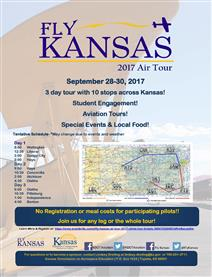 Fly Kansas 2017 Air tour