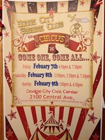 Shrine Circus Flyer