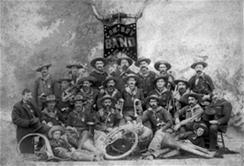 Members of the Cowboy Band