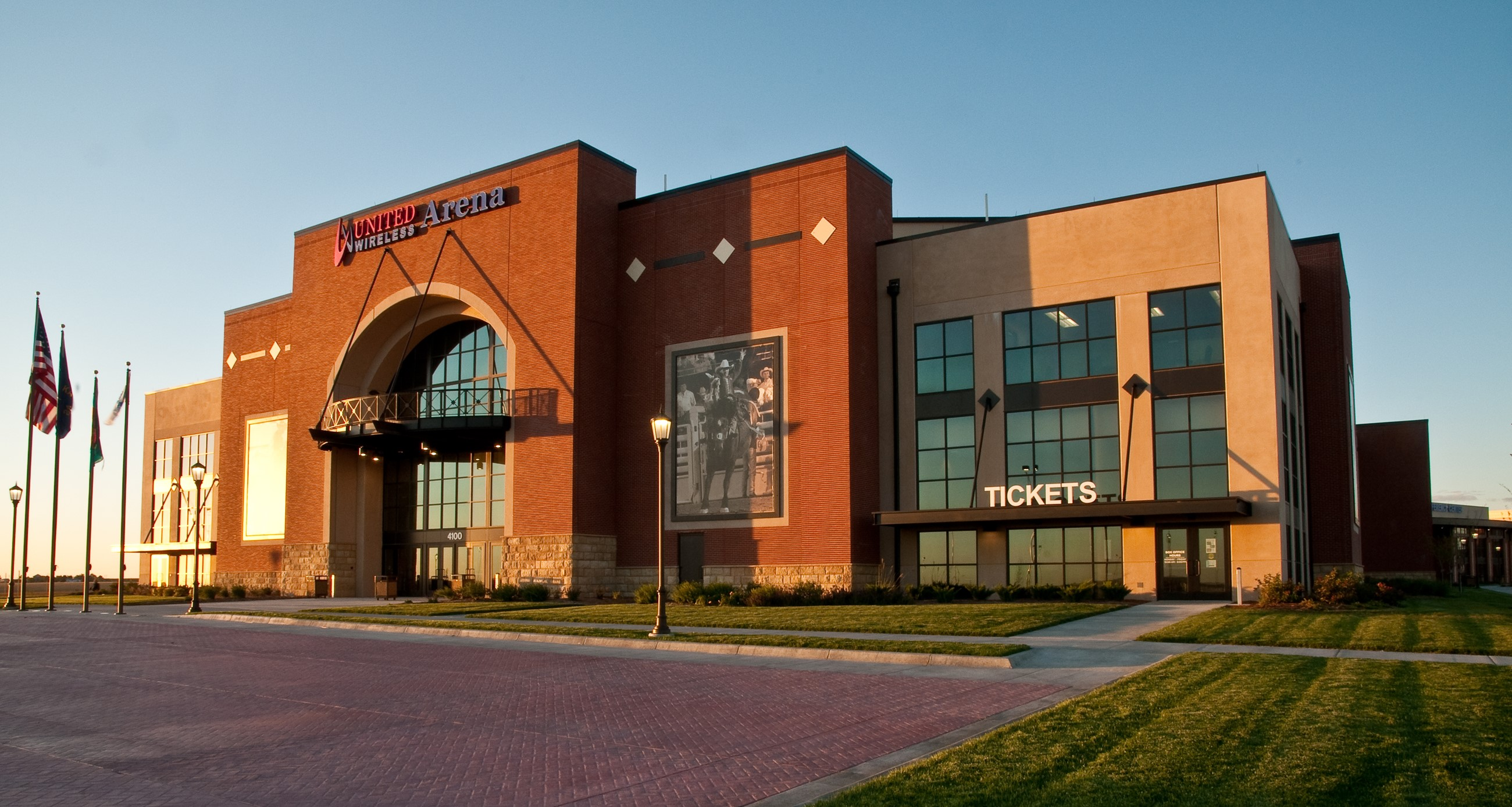 United Wireless Arena Exterior