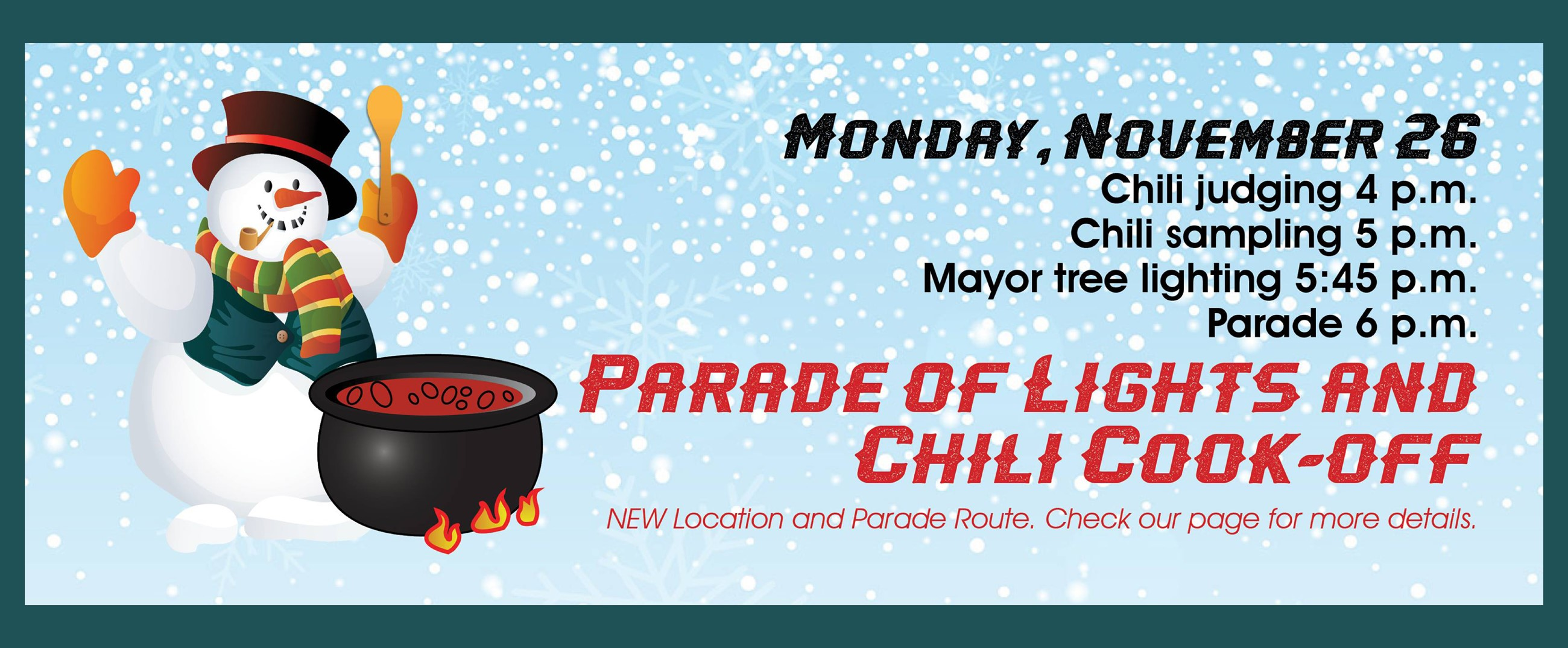 Victory Electric Annual Parade of Lights & Chili Cook-off