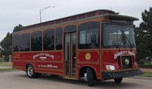 Ride the Historic Trolley in Dodge City, Kansas